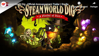 يضيف Stadia من Google أربع ألعاب SteamWorld إلى تشكيلة الفريق