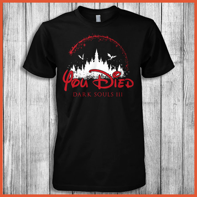 You Died Dark Souls III T-Shirt