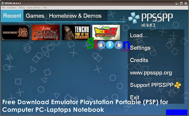 Free Download Emulator PSP for PC Laptops Windows Mac Linux