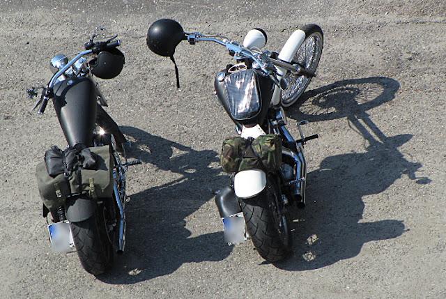 Harley Davidson softail Harley Davidson sporster 1200 cc chopper