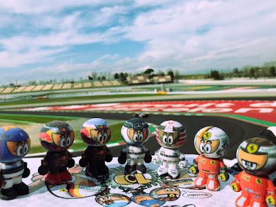 Barcelona F1 testing