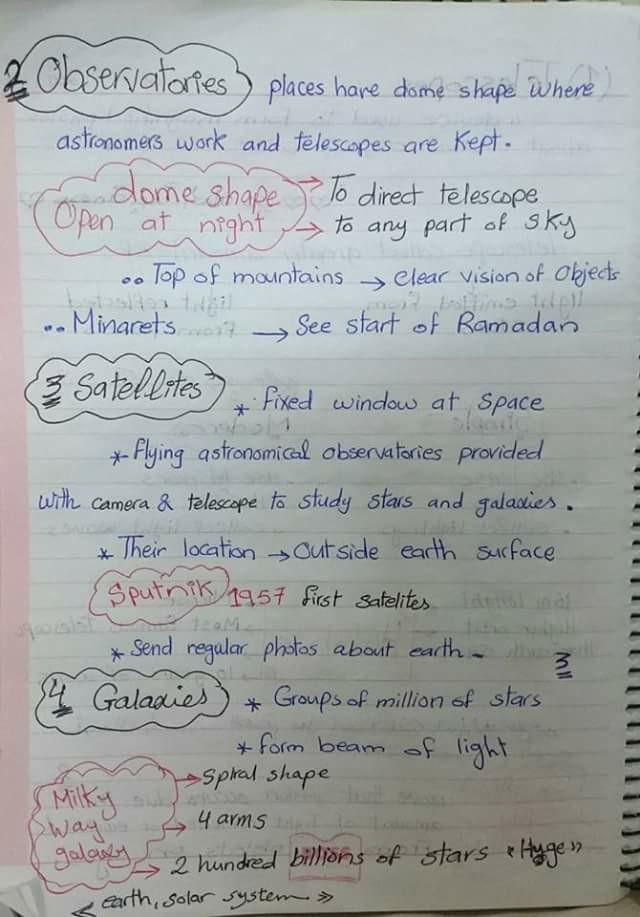 مراجعة Scince للسادس الابتدائي في 10 ورقات 3
