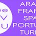 France Arabic Spain Portugal Turkey Free VLC List