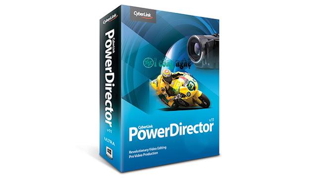 تحميل برنامج power director للكمبيوتر مجانا