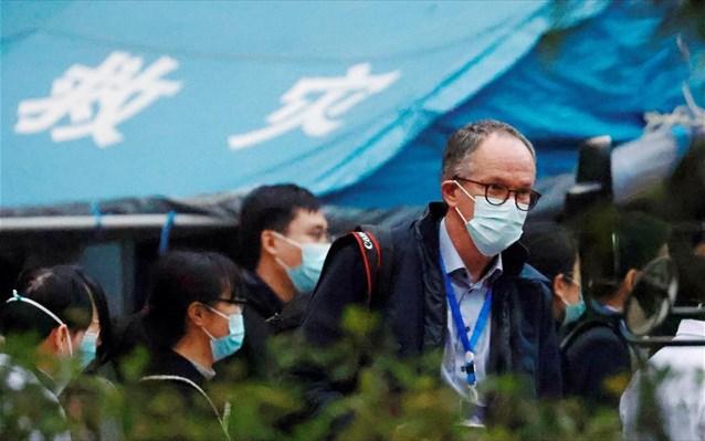 ΠΟΥ: Συνεχίζονται οι επισκέψεις σε νοσοκομεία της Ουχάν από την ομάδα εμπειρογνωμόνων