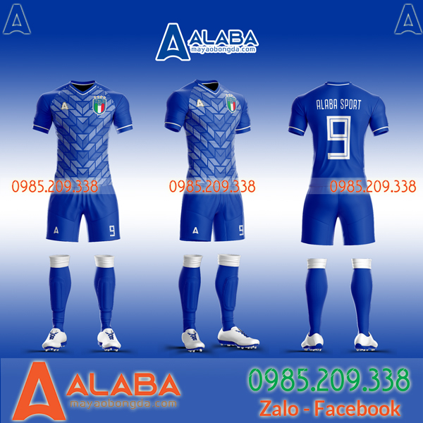 Thêu logo đội tuyển Ý