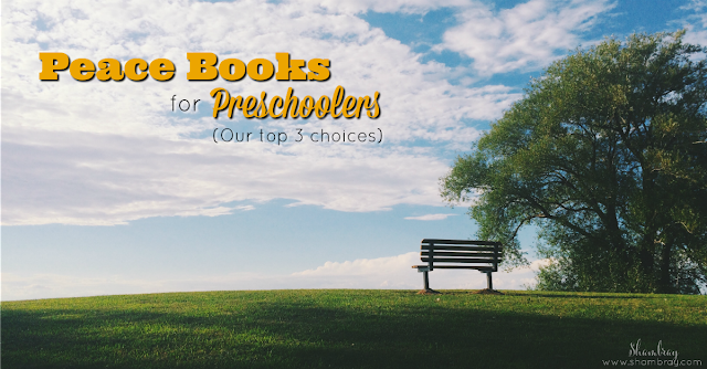 Peace Books for Preschoolers