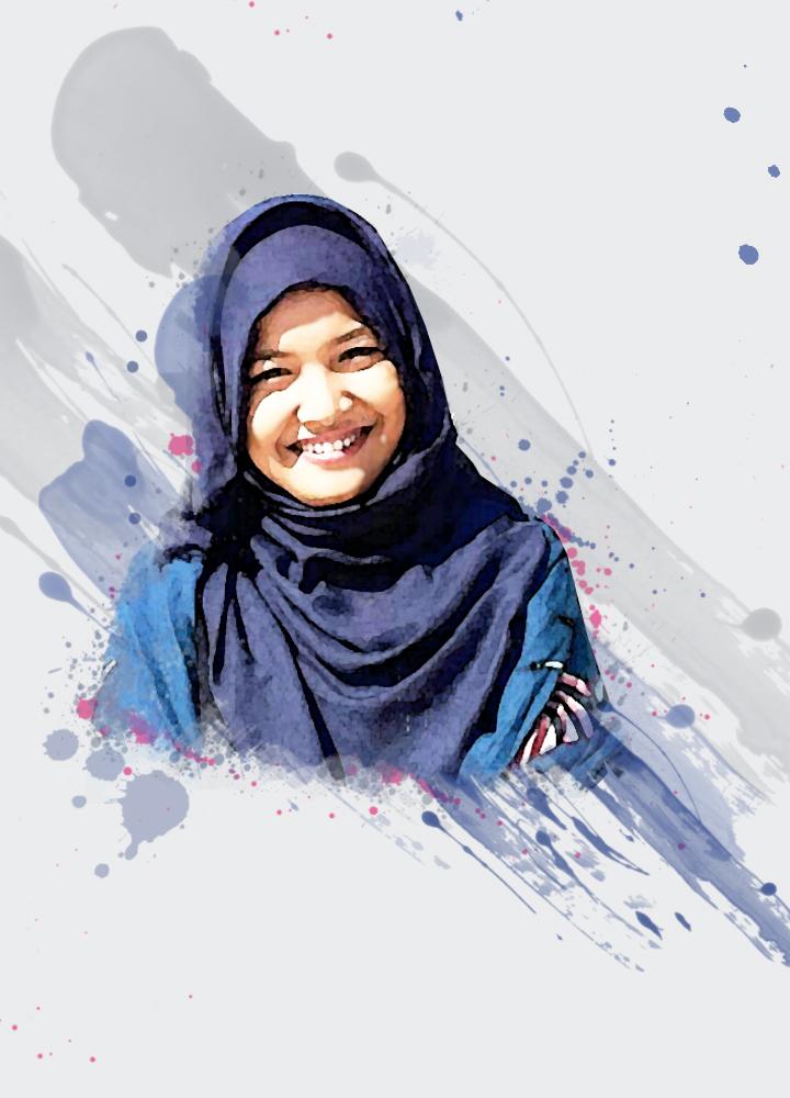 Edit Foto untuk Hadiah Ulang Tahun Anniversarry Wisuda