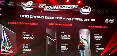 Jajaran ROG Desktop Gaming
