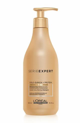 Sampon profesional pentru par foarte deteriorat L'Oréal Professionnel Serie Expert Absolut Repair, 500ml