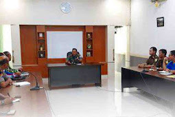 Muchammad Roni Sulaeman Pimpin Rakor Jelang TMMD di Pangkalan Bun