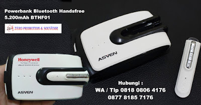 souvenir powerbank headset murah, Power Bank Bluetooth Handsfree 5200 mAh BTHF01, Powerbank Asven Bluetooth Headset 5.200mAh BTHF01, Bluetooth Speaker + Power Bank BTHF01