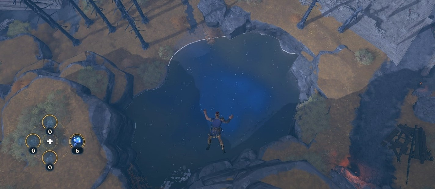 Jump into the pond