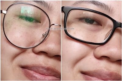 lensa antifog mocathromic