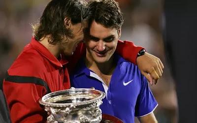 Federer and Nadal Grand Slam Titles Won