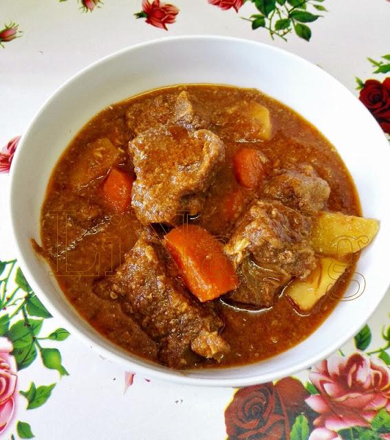 Cara Masak guna stew, sup tulang merah, bone steak menggunakan pressure cooker