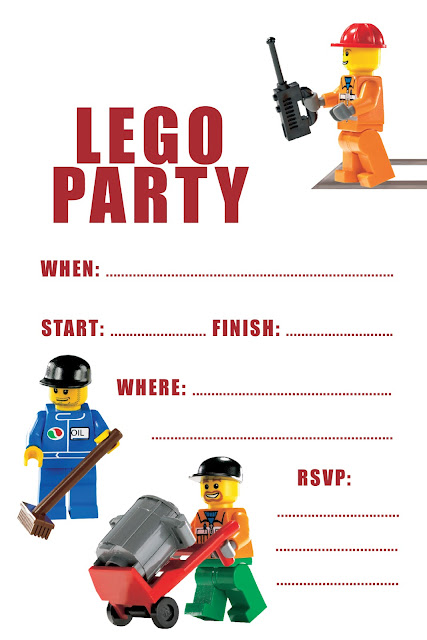 Lego Free Birthday Printables Amp Ideas