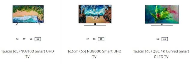 Samsung New TVs