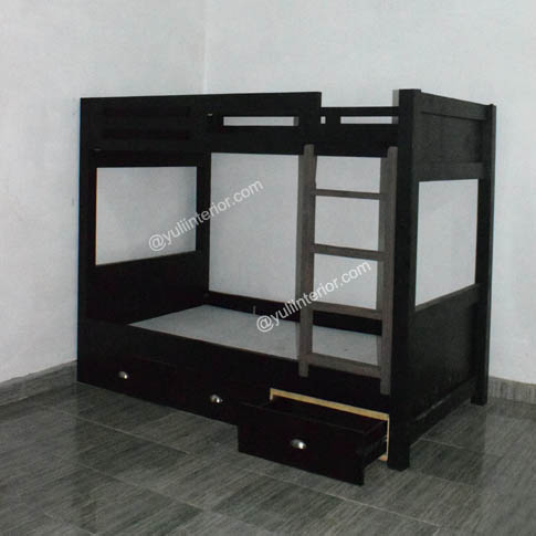YI Bunk Beds With Drawers