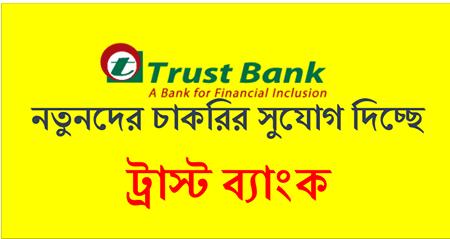 Trust Bank Job Circular 2021