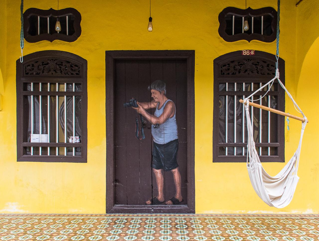penang malaysia street art and painted walls