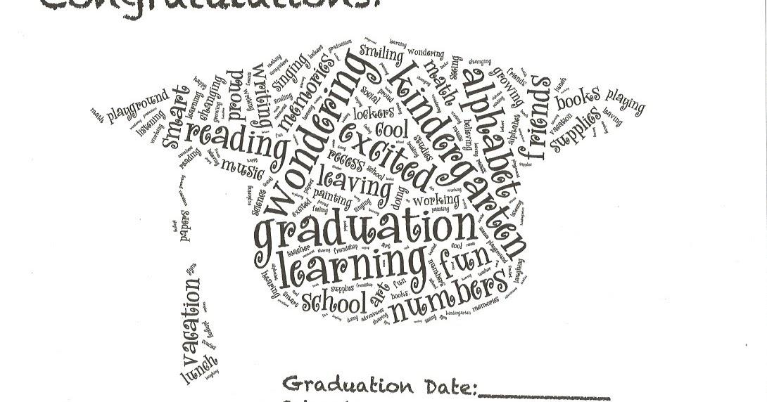 Classroom Freebies: Preschool Kindergarten Graduation