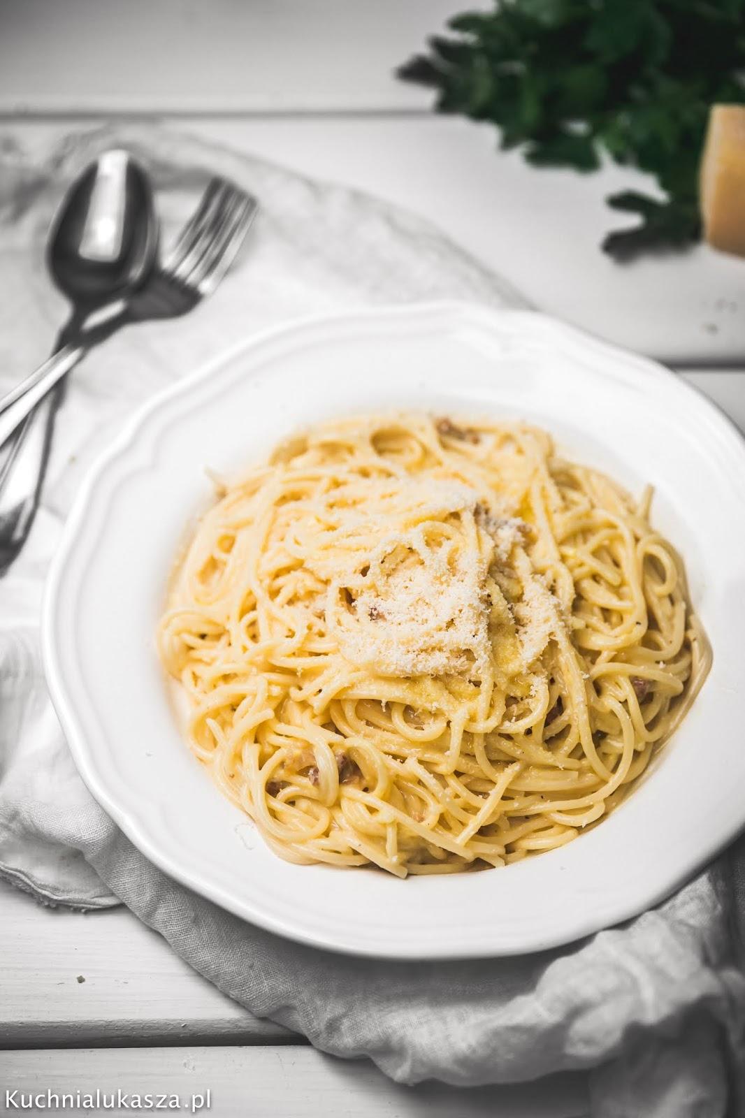 Spaghetti carbonara - przepis idealny!