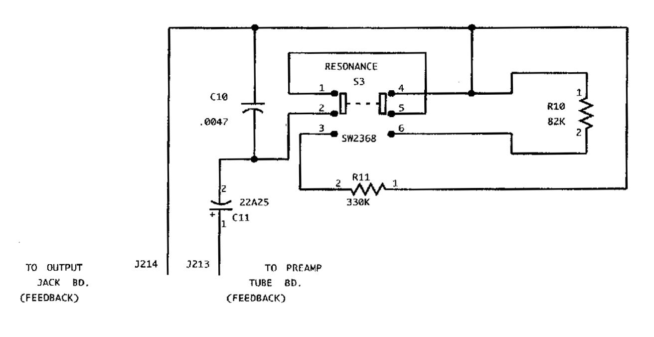 Redplate City: Peavey Ultra Plus Resonance circuit