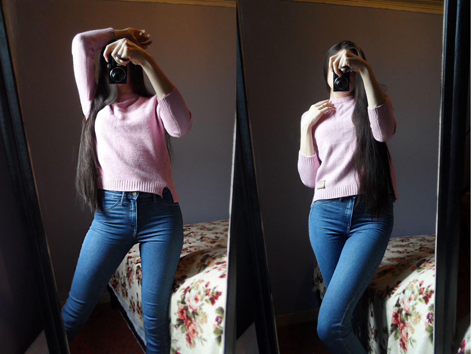 how to style simple sweater autumn winter outfit pictures look