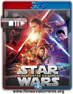 Star Wars: O Despertar da Força Torrent - BluRay Rip 1080p 3D HSBS Dual Áudio 5.1 (2015)