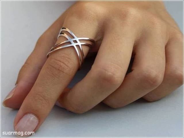 صور خواتم فضه بناتي 3 | Girls Silver Rings Photos 3