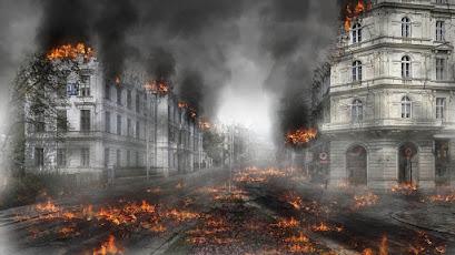 Ilustrasi kehancuran dunia