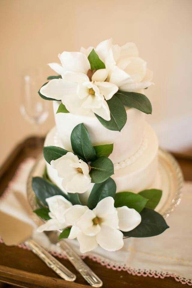 magnolia boda mangnolio flor hojas decoracion ideas ramo