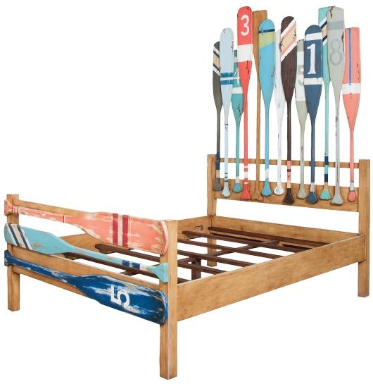 Marina Oars Bed Frame