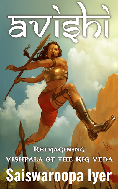 Cover Reveal for Avishi by Saiswaroopa Iyer: #Ownvoices Indian Re-telling - The Layaway Dragon