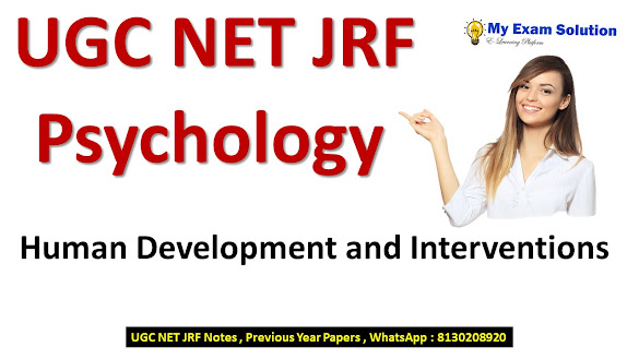 Human Development and Interventions for UGC NET