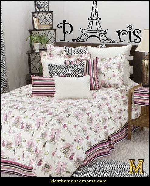 Great Paris Themed Bedroom Ideas   Paris Style Decorating Ideas   Paris Themed  Bedding   Paris Style