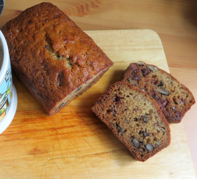 Banana Chocolate Chip Bread for Two