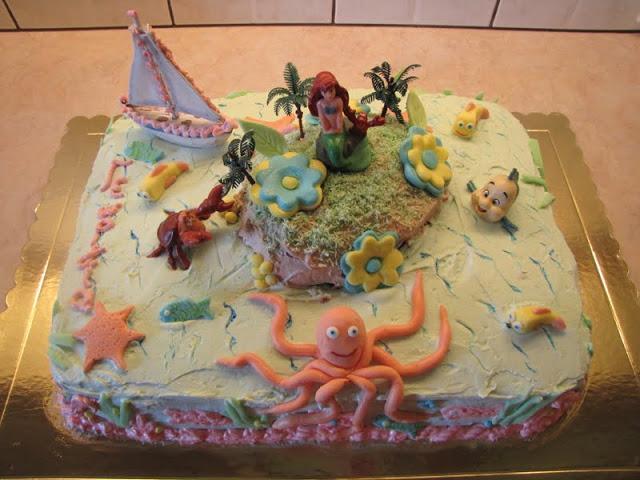 τούρτα ο βυθός της θάλασσας