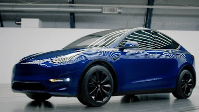 Video - the new Tesla Model Y - First appearance