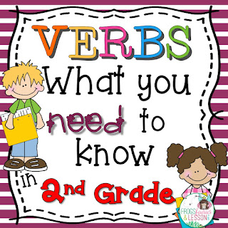 2nd Grade Verb Activities