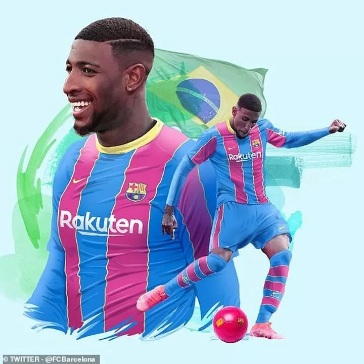 OFFICIAL: Barcelona complete the signing of Emerson