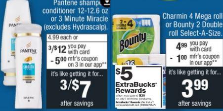 Charmin or Bounty CVS Deal $1.99 10/13-10/19