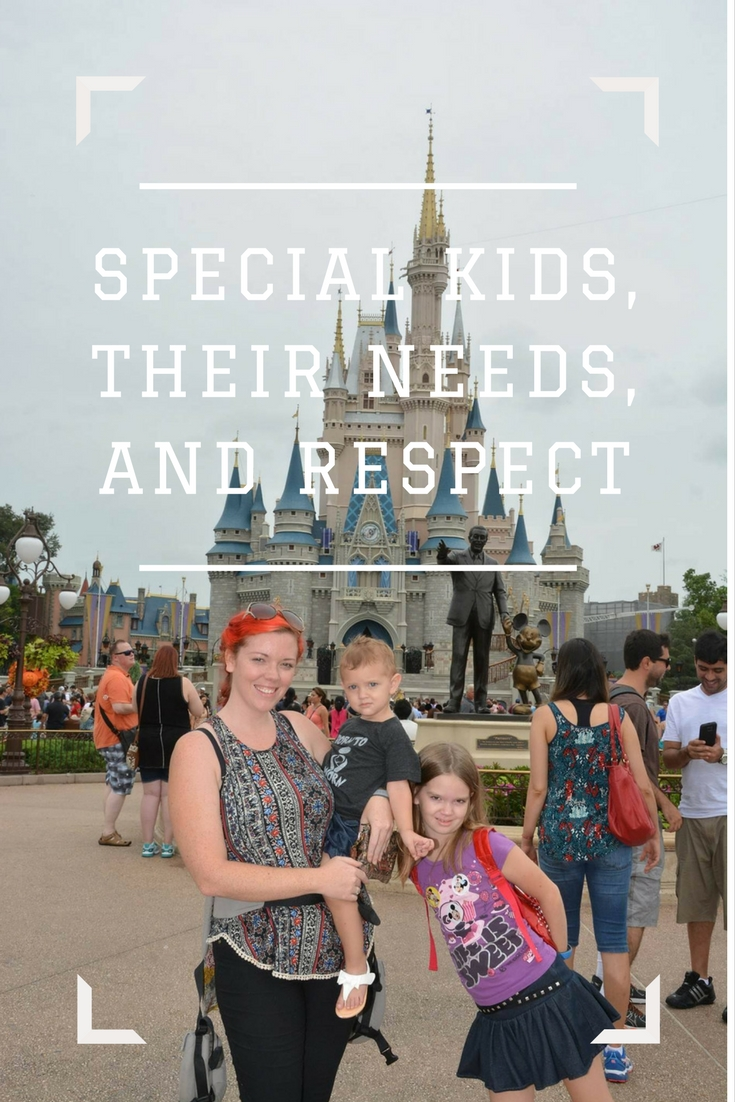 Special Kids, Their Needs, and Respect.
