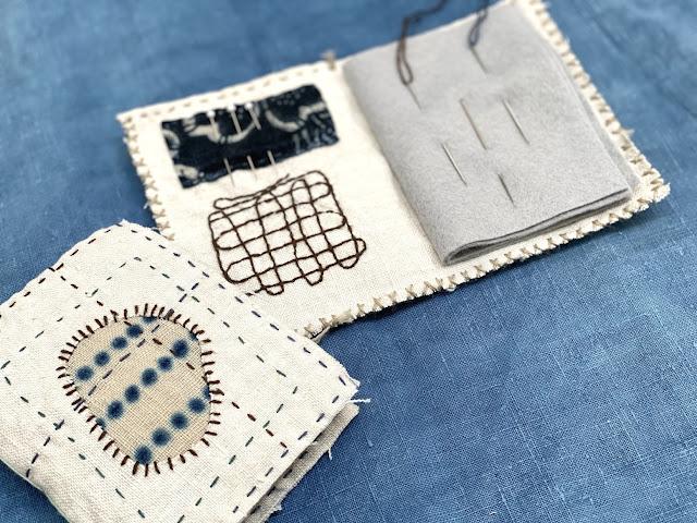 Jody Alexander - Mending Sampler Needle Book