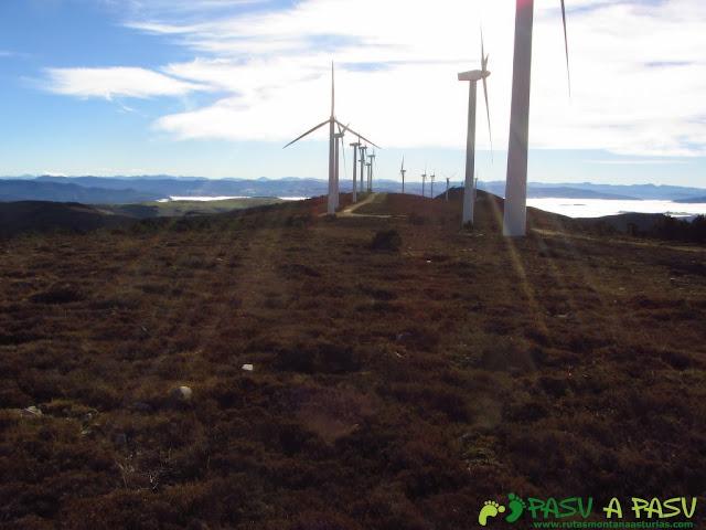 Parque eólico sierra de la Bobia