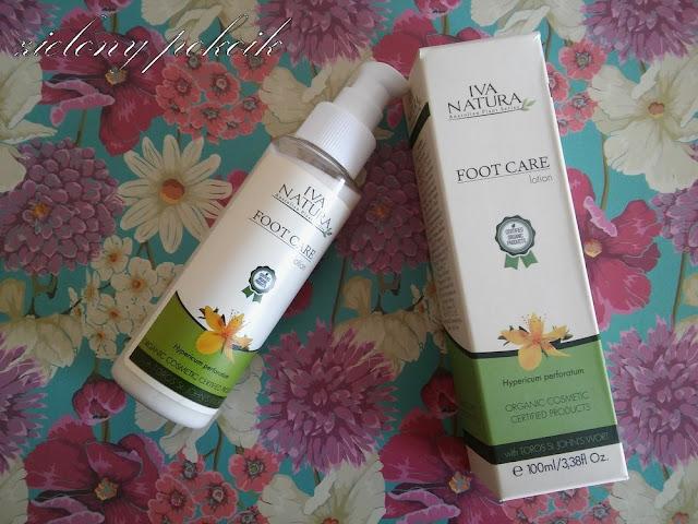 Kosmetycznie: Iva Natura - Organiczny Certyfikowany Krem do stóp