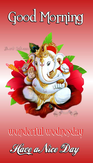 Lord ganesha good morning images