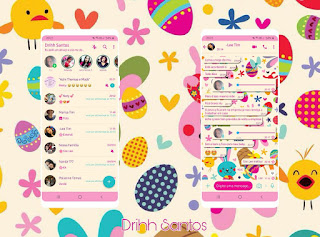 Egg & Bird Theme For YOWhatsApp & Fouad WhatsApp By Driih Santos