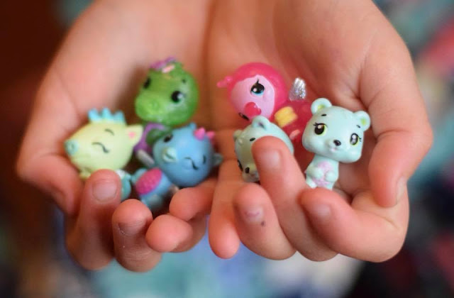 hatchimals CollEGGtibles Season Threein child's hand